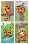 Little Tigers by Duffzilla