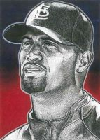 Albert Pujols by JRosales1
