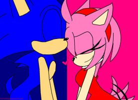 Sonamy love by TwoTailsMaly10
