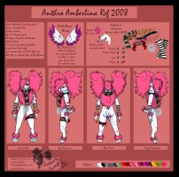 Amberlina Anthro Ref 2008 by PinkScooby54