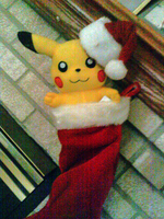 I'm giving Santa A Pikachu... by PrettySoldierPetite