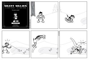 Silent Sillies 043 - Frozen Pond by JK-Antwon