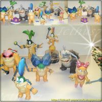 Bowser's children. by enrique3
