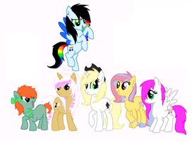 Collab 1- Rainbow Song FULL by Rainbow-ninja-adopts