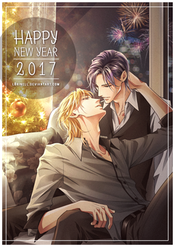 Happy New Year 2017 by L0riNell