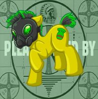 Nuke the Fallout Pony by Melle-d