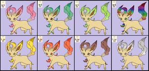 leafeon season by Naruttebayo67