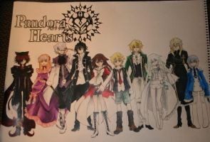 Pandora Hearts by KHArt08