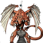Heaven Holy Dragon colored by soulsweeper