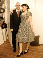 1950s style 'Prom Dress' by Lottifant