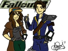 Fallout characters by FactionFighter