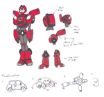 Transformers Animated OC: Ladybird :Colors: by yodana