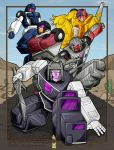 Stunticons coming at YOU by WaywardInsecticon