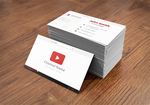 Vlogger Business Card by ICEwaveGfx