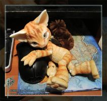 Scratch and the Mouse by TheMushroomPeddler