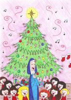 A Song for the Christmas Tree by nerdsman567