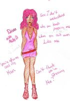 Donna P. Diamond by commy