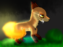 .:AT:. Flaming Fire Tail by CooI