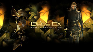 Deus Ex HR Wallpaper 2 by CrossDominatriX5