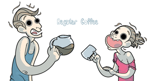 Regular Coffee by Imana-Morgan