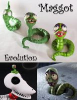 Maggot Evolution by Rei-Doll