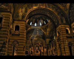 Cathedral Basilica HDR by ellysdoghouse