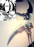 A Death scythe by beelzebobbles
