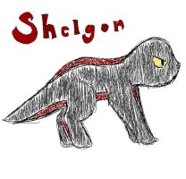 shelgon without a shell :D by PancakeSam
