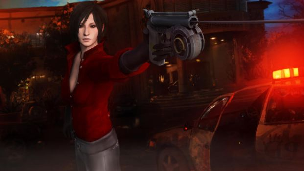 Ada Wong in another mission. by: Wilson Burton by wilsonBurton20