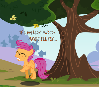My Anorexic Pony: Lighter than Air by SteamPoweredStallion