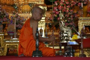 buddhist monk by alexci