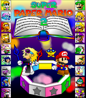 Super Paper Mario 2 by UMSAuthorLava