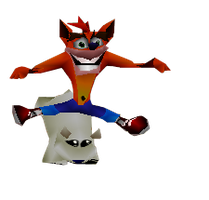 Crash Bandicoot #154 by VideoGameCutOuts