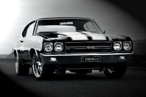 Old School Chevelle by RaynePhotography