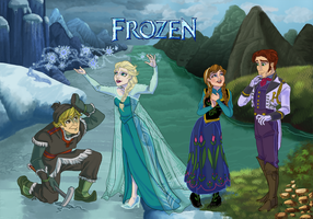 Frozen Cast by Talks2rocks