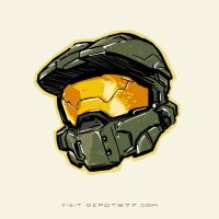 Master Chief from Halo 4 by mauro77