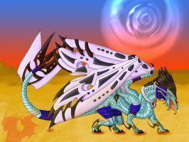 The queen of the desert by Galidor-Dragon