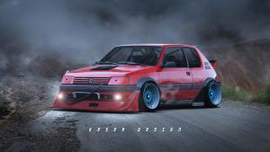 Peugeot 205 by KDessing
