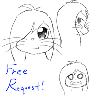 Free Request [1 Slot Left][Sketches] by Kyuubichowderfan