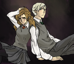 Dramione by angelwingkitsune