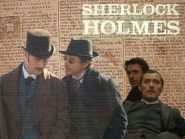 Holmes Wallpaper by Codename-Alice