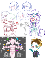 Sketch Dump 5/15/16 by padfootlet