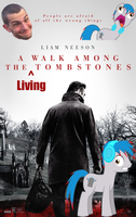 A Walk Among The Living Tombstones (Parody Poster) by MrCTeddy