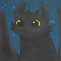 toothless by hana-obachan