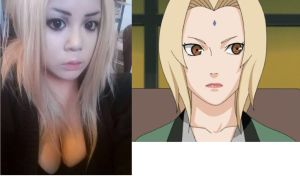 Tsunade Makeup Test by bomb109