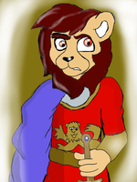 English Lion King by Count-Toon