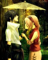 SasuSaku :: Tears from Heaven by kivi1230