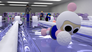 Ice Bowling by picano