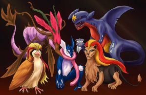 Arcans Champions by Aerophoinix