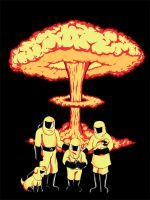 Nuclear Family by spacemonkeydr